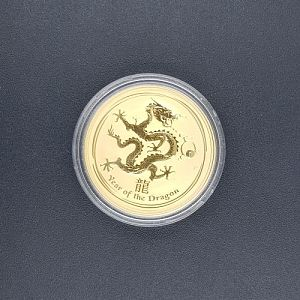 PM Year Of The Dragon Gold Coin - 0.5oz