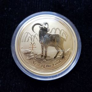 Auction 95 - Perth Mint 2015 Year Of The Goat Gold Coin - 1oz (Series 2)