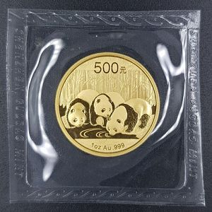 Auction 99 - 2013 Chinese Panda 1oz Gold Coin