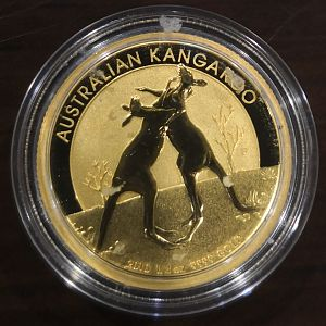 2010 025oz Gold Boxing Kang