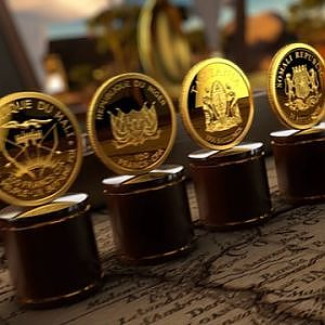 2017 African Pride 11 X .5 Gram .9999 Proof Gold Coin Set on Vimeo