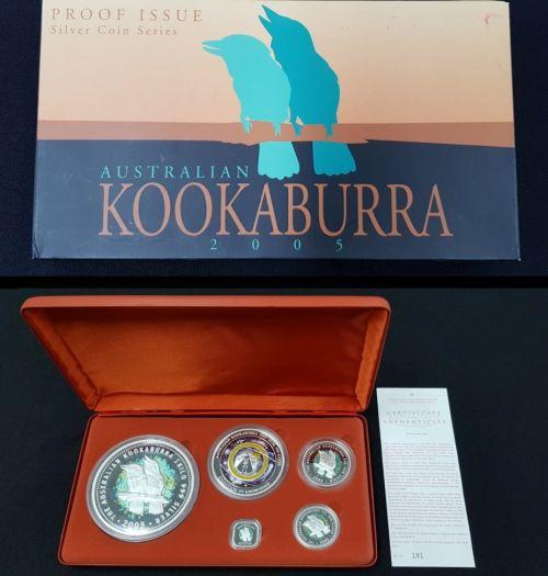 Auction 105 Australian Kookaburra Silver Coin Series 2005